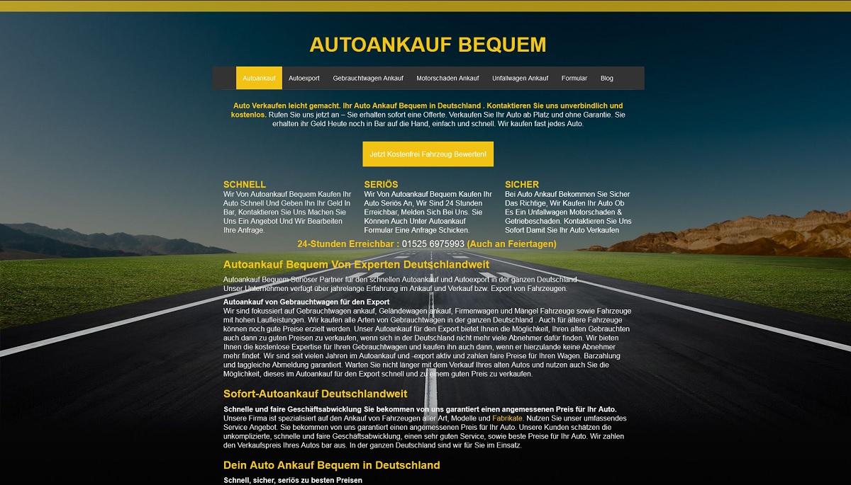 Autoankauf-bequem Offenburg