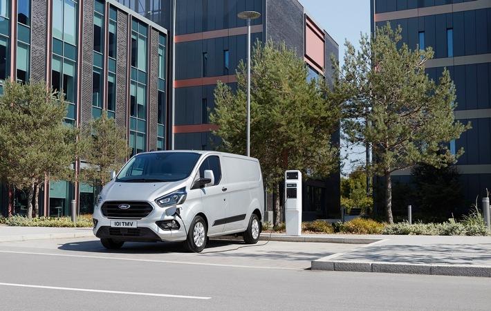 Ford Transit Custom und Tourneo Custom jetzt als Plug-in-Hybrid