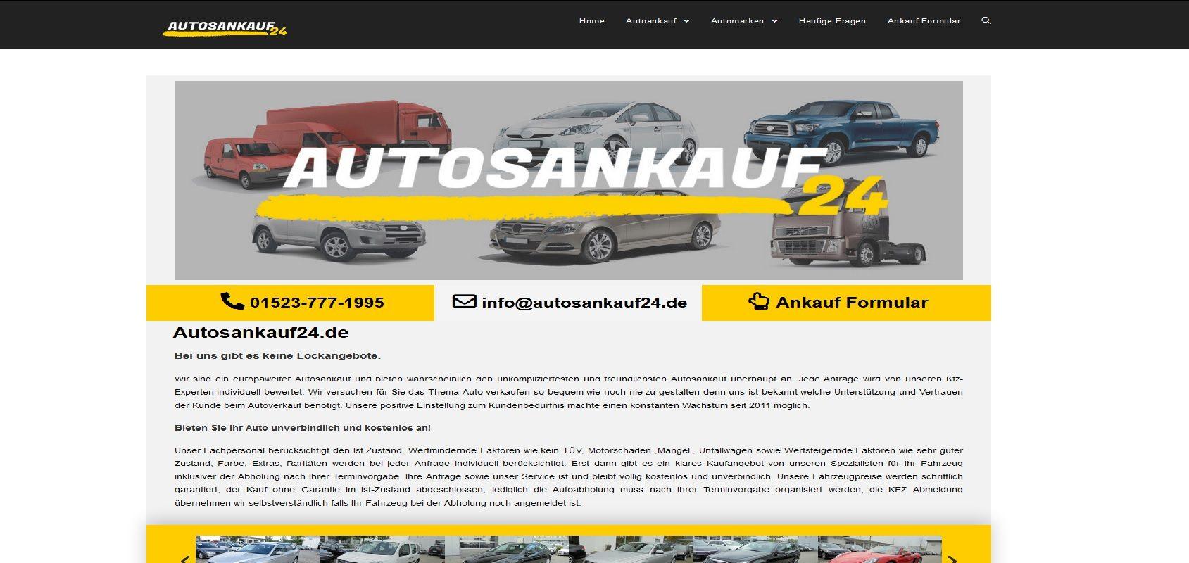 autosankauf24.de Autoankauf Hamburg