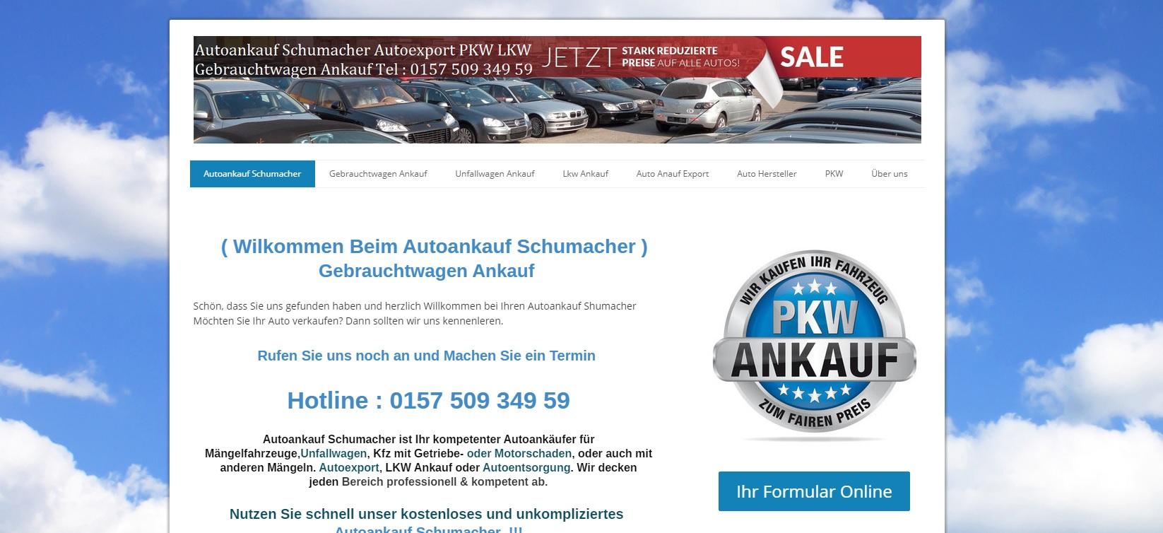 autoankauf-schumacher.de - Autoankauf Freiburg im Breisgau