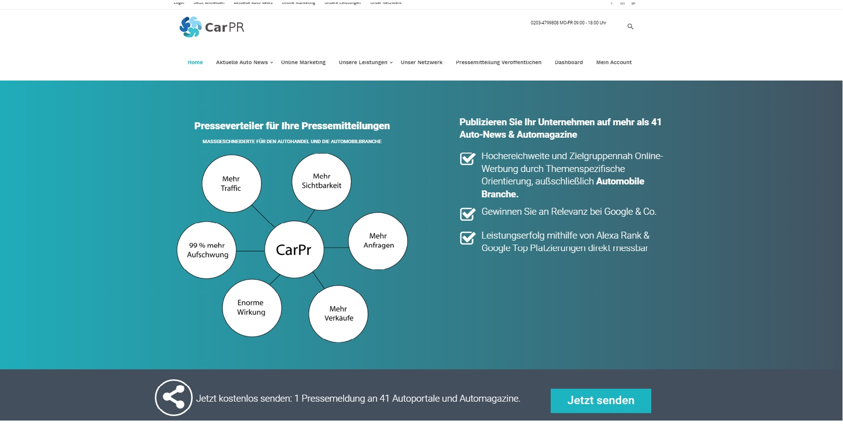 Online Marketing für Autohäuser
