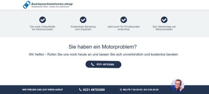 Motoreninstandsetzung : 24 Monate Garantie und ...